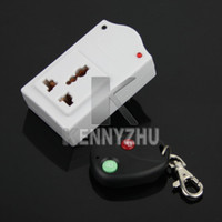 Wholesale New Professional IR Wireless Remote Control AC Power Switch Outlet Socket Plug
