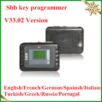 Wholesale 2013 by DHL HK Post SBB Key Programmer V33 Latest Silca SBB Immobilizer Keymaker OBD03