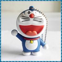 Promotion 1GB 2GB 4GB Cartoon USB Flash Drive in Doraemon Ca...