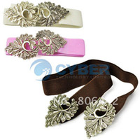 Wholesale New Women Exquisite Fashion Leaves Hollow Slender Sealing Waist Belt