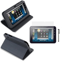 Wholesale n2 Leather Case Cover Screen Protector Stylus For Dell Streak Tablet Tab