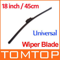 Wholesale Universal Soft Frameless Car Windshield Wiper Blade Soft Rubber Flat wiper blade Inch Wipers K568