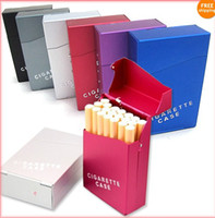 Wholesale Lady s Aluminum Alloy Cigarette Case Tobacco Box Automatic Open