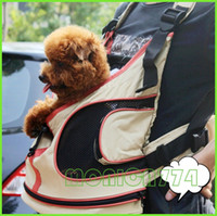 Wholesale Good Price Pet Pocket Compact Gogs Cats Backpack Bags Outdoor Carriers Soft Touch Polyester Faric