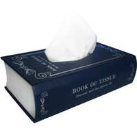 Wholesale Guaranteed New High Quality Book Style Napkins Tissue Boxes Paper Towel Box
