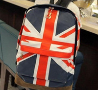 Wholesale Unisex Canvas Handbag teenager School bag Book Campus Backpack bags W1271