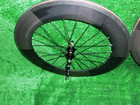 Wholesale In stock full carbon fiber road bike wheelset mm Clincher SRAM S80