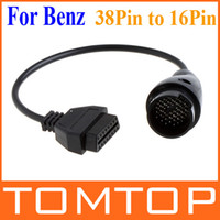 Wholesale 38Pin to Pin OBD2 OBDII Female Adapter Connector Cable for Mercedes Benz diagnostic tools K642