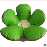 Wholesale New Flower Bean Bag PU Lazy Sofa Chair Novelty Cozy Leisure Sofa Pink Green Rose Color Mix Order