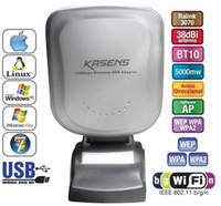 Wholesale High quality KASENS WN Mbps USB Wireless Adaptor Wifi Lan Network Card Adapter Bulit in dBi