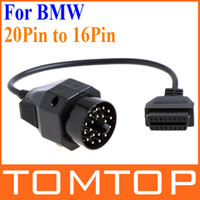 Wholesale 20Pin to Pin OBD OBD2 Female Adapter Connector Cable for BMW K644