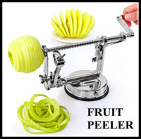 Wholesale 3 in Fruit Apple Peeler Corer Slicer Cutter Parer Knife Kitchen Tool Random Color
