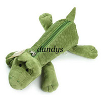 Wholesale original design NICI animal series crocodile pencil case pen bag pencil case kids gif