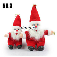 Wholesale Santa Claus doll Christmas gifts xmas plush doll toys cm high quality PPT cotton who