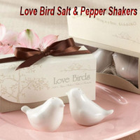 Wholesale 100pairs Love Bird Salt amp Pepper Shakers Wedding Favor Gift pair pieces