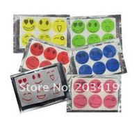 Wholesale smile anti Mosquito Repellent Sticker Repeller Patch Natural Essential Oil mat BAG