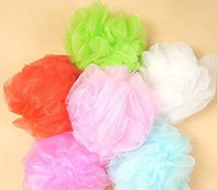 Wholesale Cool ball bath towel scrubber Body cleaning Mesh Shower wash Sponge product