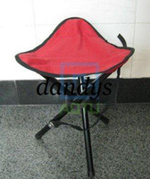 Wholesale Outdoor Camping Tripod Folding Stool chair fishing foldable portable metal baby