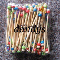 Ear Care bamboo earpick - wooden Bamboo Earpick ear cleaner unique design doll high quality cheap pric