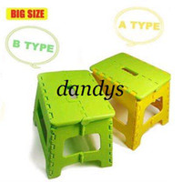 Wholesale New Easy Foldable Step Stool chair hold Up to lbs for camping fishing ki