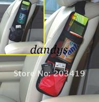 Wholesale Car multi function Pocket Storage Organizer Bag box for Back seat side chair Hanging