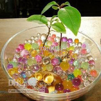 Wholesale 9000g pack Magic Plant Crystal Soil Mud Water Beads Pearl ADS Jelly Crystal b
