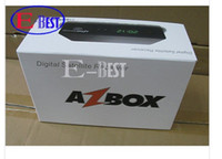 Wholesale Hot Sell Azbox Bravissimo Set top box p HD Twin Tuner Support Nagra3 IKS and S