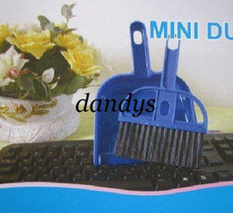 Wholesale Mini cleaning Sweeper Brush amp Dustpan Set for car keyboard corner cleaner