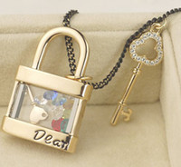 Wholesale fashion jewelry dear Jinsuo key Crystal sweater chain Necklace
