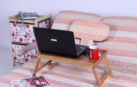 Wholesale FOLDING CONVERTIBLE LAP LAPTOP notebook reading TABLE TRAY For TV COUCH BED
