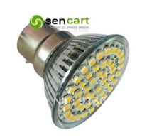 Wholesale in stock hot selling B22 W SMD LED LM K Warm White Light Bulbs V V