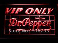 dr pepper - 686 r VIP Only Dr Pepper Neon Light Sign