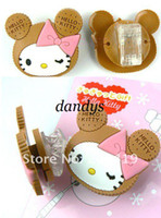 Wholesale Cute cat with clip design wrap cable wire tidy earphone winder Organizer holder for he