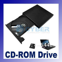 Wholesale Super Slim Portable USB x External CD ROM Drive For Laptop PC