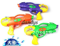 Gift Toy   wholesale free shipping Funny Plastic Kids Toy Air Pressure Water Gun Super beach spray fun Squirt p
