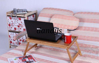 62*30*23cm folding tray - FOLDING CONVERTIBLE LAP LAPTOP notebook reading TABLE TRAY For TV COUCH BED stan