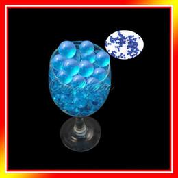 Wholesale 5 bag Aqua Blue Magic Crystal Mud Soil Water Beads Flower Planting Vase Decor New Wedding Supply WBS