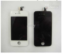 Wholesale For iphone4 s Gen full complete LCD with digitizer panel screen glass display