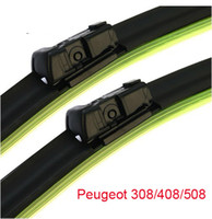 Wholesale Peugeot Frameless Windshield Wiper blades quot quot one pair main sub