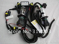 Wholesale H4 H L Hi Low one xenon moving bulb HID xenon bulb W Bi xenon bulb with H4 wire Freeshipping AAA