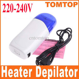 Wholesale 220V V Roll On Depilatory Wax Heater Waxing Kit for Hair Removal hair Remover Shaver H4630