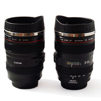 Wholesale Newest coffee cup EF mm Lens mug stainless steel camera lens mug