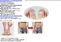 Wholesale 20pcs pair New Magnetic Silicon Foot Massage Toe Ring Slimming Easy Healthy