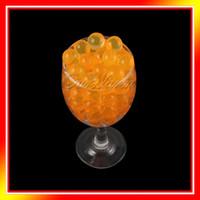 Wholesale 10 Bag Orange Magic Crystal Mud Soil Water Beads Flower Plantng Vase Hot Sale Wedding Party Supply