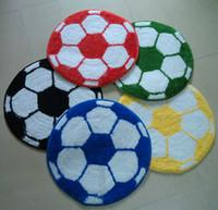 floor mat - Football mat doormat football carpet floor mats round carpet mats