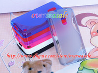 Wholesale S line shape wave soft clear crystal Gel TPU Silicone skin case cover cases For Nokia Lumia n930 X2