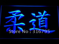 Wholesale b494 b Judo japanese Kanji Symbol Bar Neon Light Sign