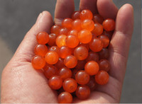 Wholesale Handmade beads red Ock single particle diameter of about mm pack of