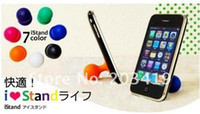 Wholesale 200PC ball Holder Stand Sucker for Cell mobile Phone for Apple iPhone S G GS