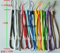 Wholesale retail wrist hand cell phone mobile chain straps keychain Charm Cords DIY Lariat Lanyard M